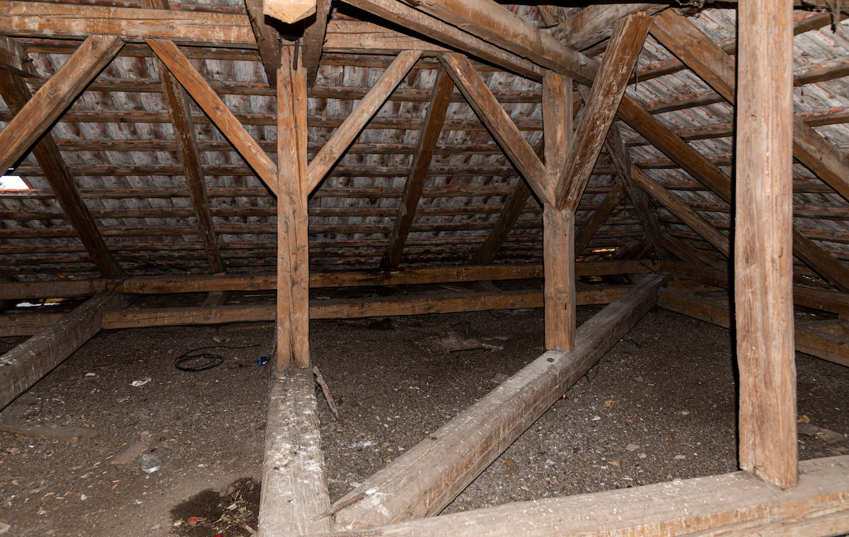 attic crawl spaces